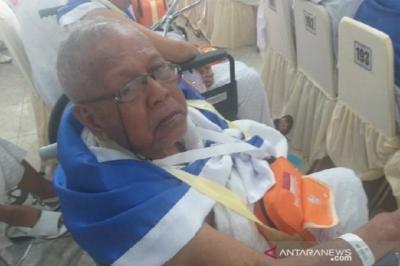 Di Usia 91 Tahun, Kakek Panut Tidak Menyangka Berangkat ke Tanah Suci