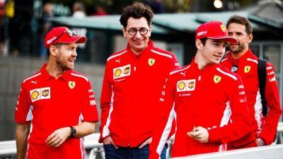 Ferrari Tetap Tenang di Masa Sulit, Vettel Puji Kepemimpinan Binotto