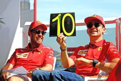 Jadi Rekan Setim Vettel, Leclerc Dapat Banyak Pelajaran Berharga