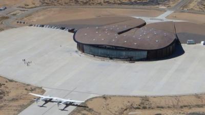 Ini Penampakan Bandara Penerbangan Luar Angkasa Milik Virgin Galactic