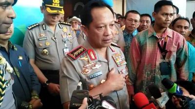 Kapolri Sebut Terduga Teroris Surabaya Terpapar Internet Soal Radikalisasi