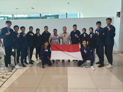 Indonesia Sabet 9 Medali di 2nd Asian Open Taekwondo Championship