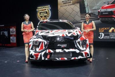 Mitsubishi Xpander Jadi MPV Pertama Dunia Turun di Ajang Rally International