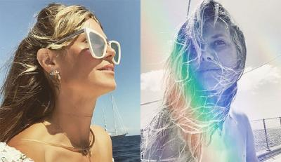 Intip Penampilan Seksi Heidi Klum saat Bulan Madu, Pamer Payudara Tanpa Bra!