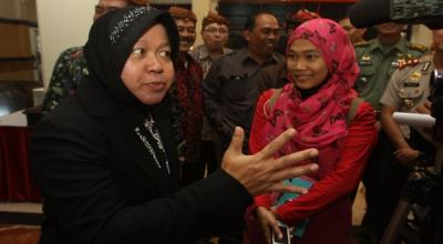 Wali Kota Surabaya Tri Rismaharini Akan Sambangi Asrama Papua Besok