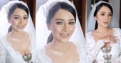 Cantiknya Mutia Ayu dengan Makeup Beauty Flawless di Hari Pernikahan