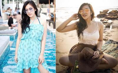 5 Potret OOTD Seksi Resiah Lim, Mantan Asisten Ashanty