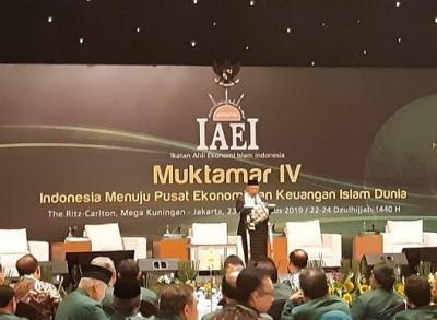 Ma'ruf Yakin Indonesia Jadi Pusat Kebangkitan Ekonomi Islam