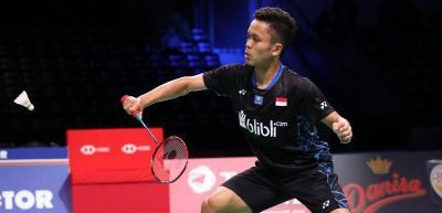 Terhenti di Kejuaraan Dunia, Anthony Lakukan Evaluasi Jelang China Open 2019