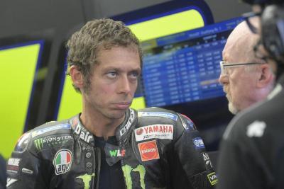 Tak Puas Finis Keempat, Rossi Ceritakan Pahitnya Balapan di Silverstone