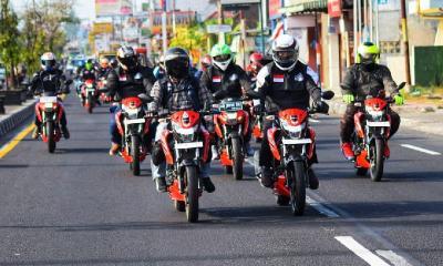 Touring ke Dieng, Komunitas S'Pong Rasakan Sensasi Berkendara di Atas Awan