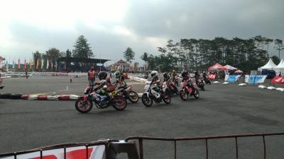 Valentino Rossi Gagal Raih Podium saat Kendarai Motor Honda di Malang