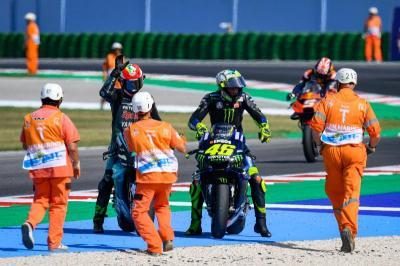 Rossi Heran Jaraknya dengan Vinales Cukup Jauh