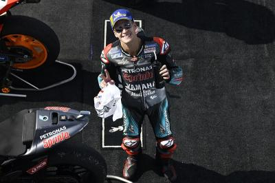 Marquez Sebut Quartararo Pembalap Terbaik di MotoGP San Marino 2019