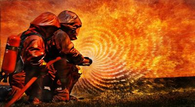 Rumah di Jelambar Terbakar, Sejumlah Unit Mobil Pemadam Dikerahkan