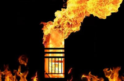 Kebakaran di Sawah Besar Jakpus, 4 Damkar Dikerahkan