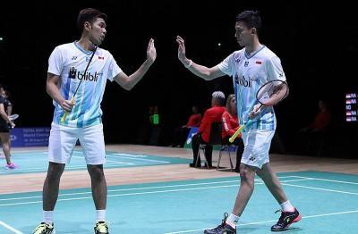 Fajar Rian dan Rinov Pitha Melangkah ke Babak Kedua China Open 2019