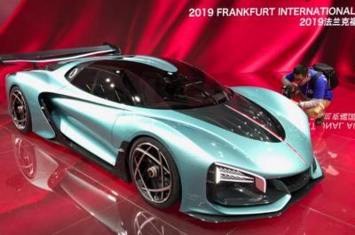 Ini Tampang Gahar Mobil Konsep China yang Pamer di Frankfurt Motor Show 2019