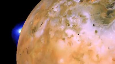 Gunung Api Besar di Satelit Jupiter 'Loki' Meletus Dalam Waktu Dekat