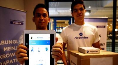 Berdayakan Masyarakat, Aplikasi Krowrier Sediakan Layanan Pengiriman Barang