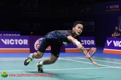 Jadwal Wakil Indonesia di Perempatfinal China Open 2019