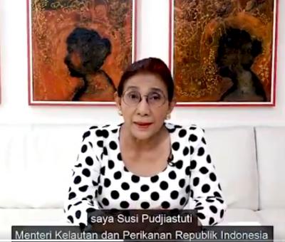Fakta Menarik Menteri Pamitan, Susi Pudjiastuti Minta Maaf karena Keras Kepala