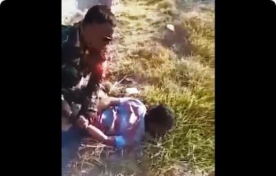Viral TNI Bekuk Pembakar Lahan, Awalnya Diajak Ngobrol Terus Dibanting