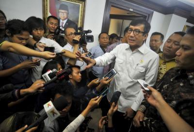 Menkumham Bantah Ringankan Hukuman Koruptor di RKUHP