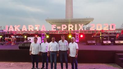 Formula E Digelar Selama 5 Tahun Berturut-turut di Jakarta
