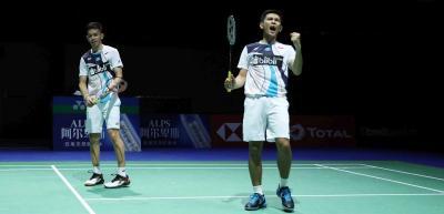 Tumbangkan Unggulan Keempat, Fajar Rian ke Semifinal China Open 2019