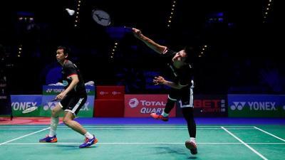 Ikuti Jejak Fajar Rian, Hendra Ahsan Juga ke Semifinal China Open 2019
