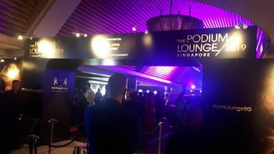 The Podium Lounge, Pesta Jelang Race F1 GP Singapura 2019