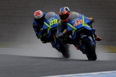 Kurang Maksimal di Kualifikasi, Brivio Tetap Yakin Suzuki Bisa Bersaing di Aragon
