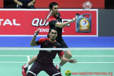 Hendra Ahsan ke Final, Indonesia Pastikan Gelar Juara di China Open 2019