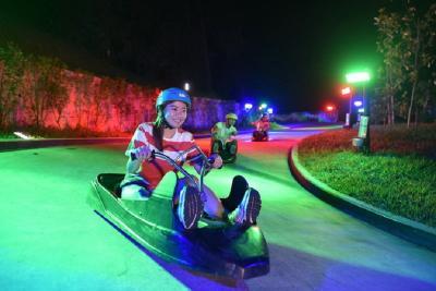 Liburan ke Singapura, Pacu Adrenalin di Skyline Luge Sentosa