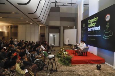 Kopdar Santrinet, Menag Lukman: Medsos Harus Diisi dengan Konten Mencerahkan