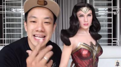 Frans Sanjaya, Kolektor Action Figure Pemilik Karakter Wonder Woman Seharga Rp40 Juta