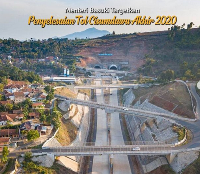 Tol Cisumdawu Ditargetkan Beres Akhir 2020