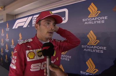 Leclerc Kecewa Sekaligus Senang Usai F1 GP Singapura 2019