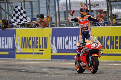 Meski Menang Mudah, Marquez Ternyata Hati-Hati Melaju di Aragon