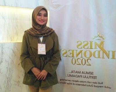 Ikuti Audisi Miss Indonesia 2020, Gadis Berhijab Ini Ingin Kenalkan Budaya Indonesia ke Dunia
