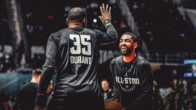 Meski Diperkuat Durant, Irving Merasa Nets Belum Pasti Juarai NBA 2019-2020
