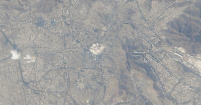 Astronot Hazza Al Mansouri Abadikan Foto Mekah dari Luar Angkasa