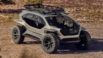 Konsep Kendaraan Off Road Otonom dari Audi, Pakai Drone Gantikan Lampu Utama