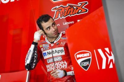 Performa Turun, Ducati Ultimatum Petrucci