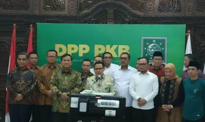 Bertemu Cak Imin, Prabowo: PKB Perekat Bangsa