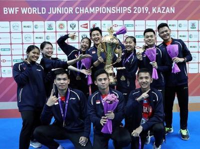 Indonesia Bersinar di Kejuaraan Dunia Bulu Tangkis Junior 2019, Susy: Anak-Anak Cetak Sejarah