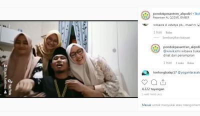 Viral TikTok Anggota DPR Bareng 3 Istrinya, Netizen: Resep Poligami Apa Ya?