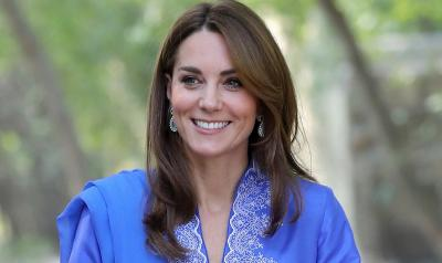 Royal Tur ke Pakistan, Outfit Kate Middleton Jadi Sorotan