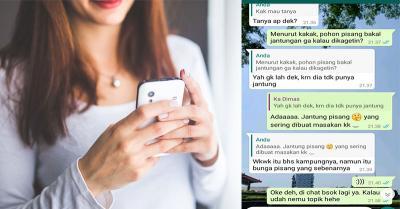 Viral Netizen Kejar Cinta Mas Dimas, Cari Bahan Obrolan Sampai ke Jantung Pisang!
